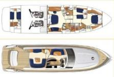 Princess 67 accomodation plan